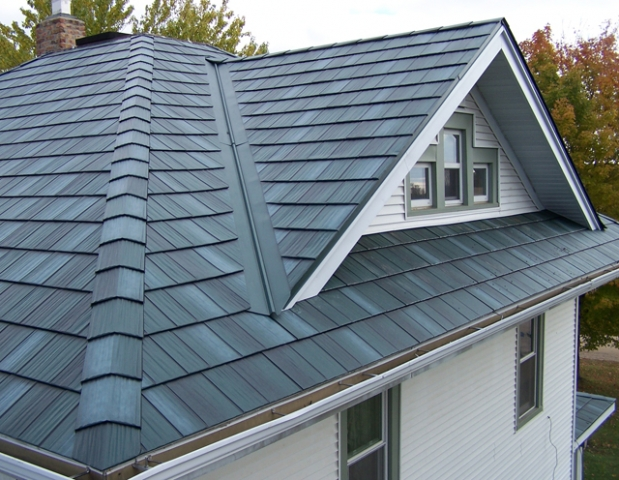 Butterfly Roof Steel : Any experience with steel roofing heat color